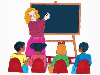 О профессии учительница